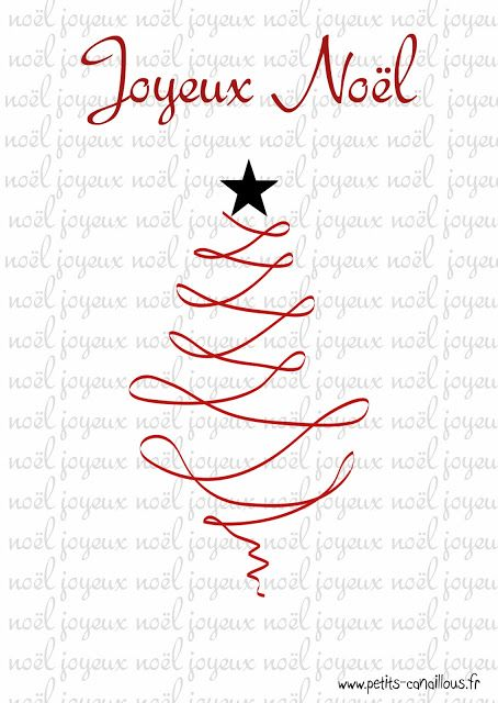 jolies cartes noel imprimer original no l impressions gratuites christmas free printable. Black Bedroom Furniture Sets. Home Design Ideas
