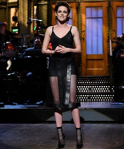 Can You Guess Who Made Kristen Stewart's Affordable SNL LBD? +#refinery29