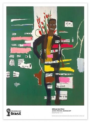 Desmond by Jean-Michel Basquiat