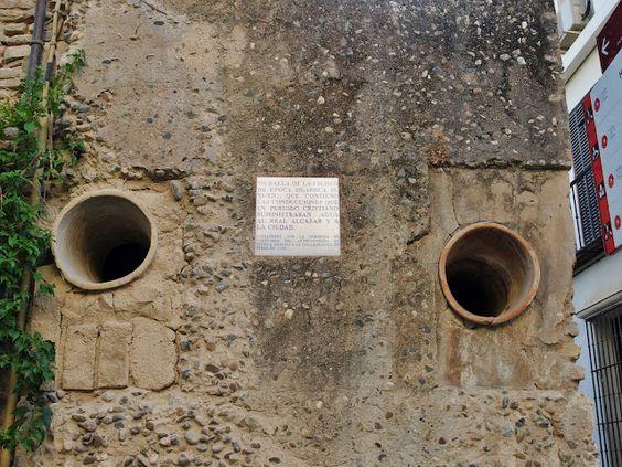 El agua del Alcázar.
