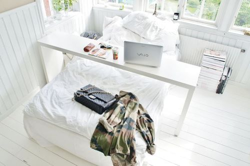 Breaky in bed table or for whatever just so you never have to get out of bed.