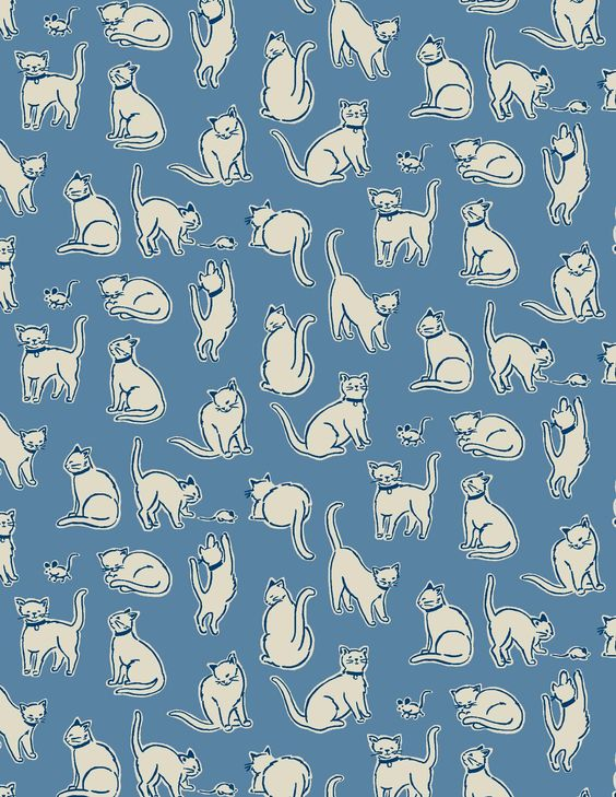 Mono Cat | Our first ever cat print!  An elegant silhouette style, inspired by popular designs we saw in Asia | Cath Kidston Spring Summer 2017 |