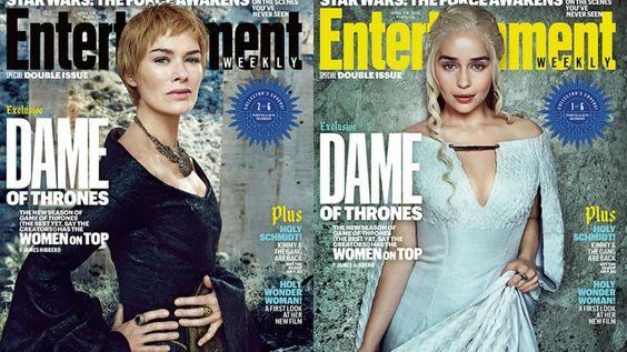 Il trono di spade 6: le primedonne di Westeros e dintorni posano per Entertainment Weekly. La gallery