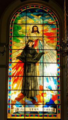 Divine Mercy: 1048 Then, in an instant, I was caught up to stand...