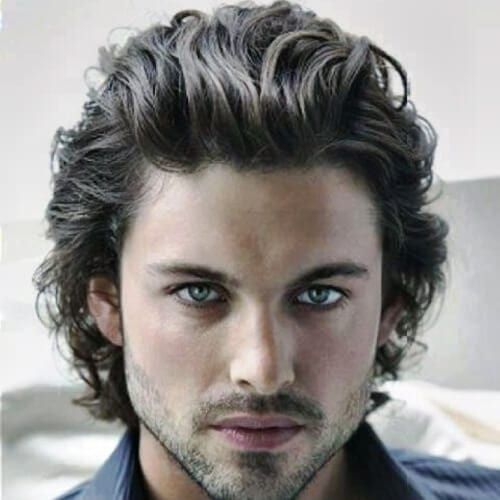 Wavy Hairstyles For Men 50 Waves Ways To Wear Yours Men Hairstyles World In 2020 Wavy Hair Men Thick Hair Styles Curly Hair Men