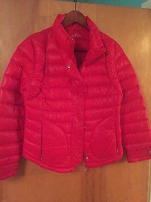 Calvin Klein Red Lightweight Premium Down Packable Puffer Coat Jacket Womens M https://t.co/kqsHsNLMSJ https://t.co/X9wGY42ZRE
