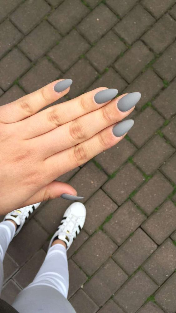Acrylic Almond Nails Short Almond Nails Long Almond Nails 2019 Natural Almond Nails Matte Almond Short Almond Nails Matte Nails Design Almond Acrylic Nails