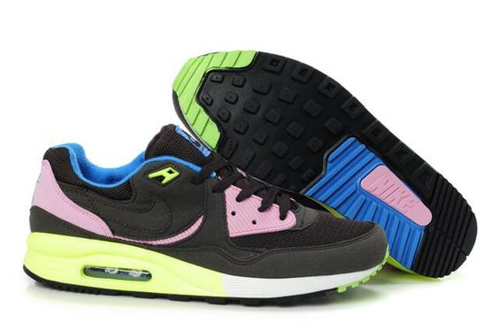 Nike Air Max Light Black Pink Volt Military Blue 315728
