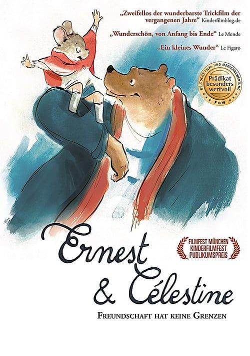 Watch Ernest Celestine 2012 Full Movie Online Ernest And Celestine Movies Life Of Crime