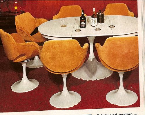 Kontinent Möbel 70er by diepuppenstubensammlerin, via Flickr
