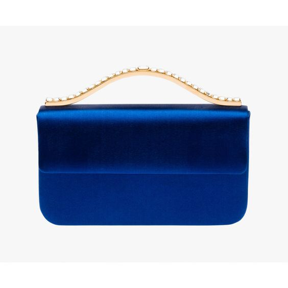 hand bags prada - Prada clutch cornflower blue