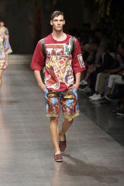 Dolce and Gabbana Men Summer Fashion show 2016  Vogue is Viral