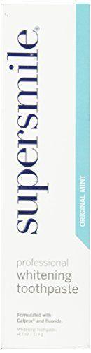 supersmile Whitening Fluoride Toothpaste, original mint - 4.2 oz, http://www.amazon.com/dp/B00005V50B/ref=cm_sw_r_pi_awdl_-rc1ub0G3MHZY