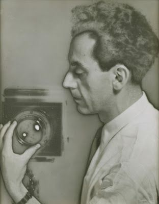 Man Ray: Self-Portrait with Camera, 1932