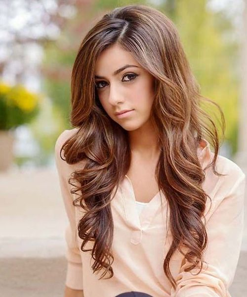 Pretty Long Wavy Hairstyles 2019 For Teenage Girls Full Dose Hair Styles Womens Hairstyles Hair Styles 2016