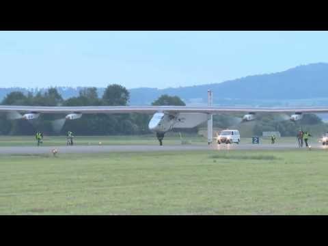 Solar Impulse 2 Solar Powered Aircraft First Flight 1080p - http://militaryfriendlycollegesanduniversities.com/solar-impulse-2-solar-powered-aircraft-first-flight-1080p/