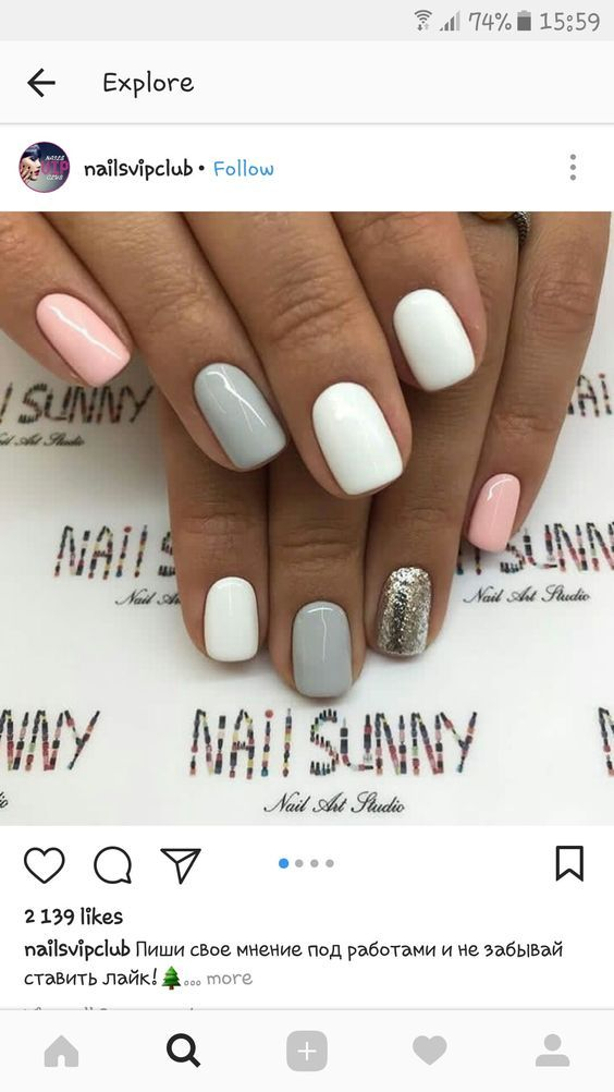Easy Easter Nail Designs For Short Nails Trendy Nails Bright Summer Nails Designs Nail Designs Summer