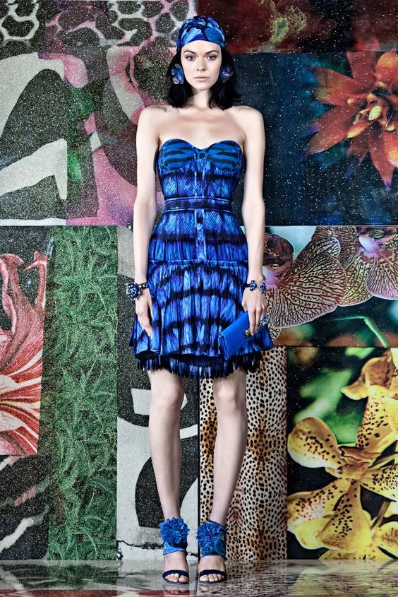 Roberto Cavalli Resort 2012 Collection Photos - Vogue