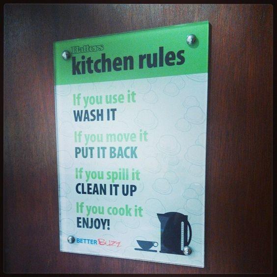 Kitchen Courtesy Signs: Funny Kitchen Signs, Kitchen