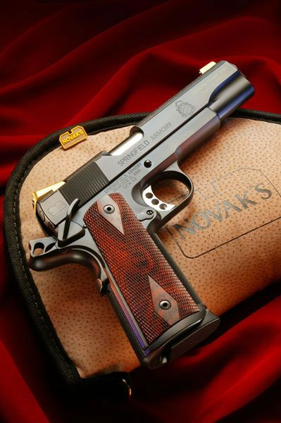 Novak Custom 1911. I'm not a big 1911 fan, but if I had a choice this definitely would be it!