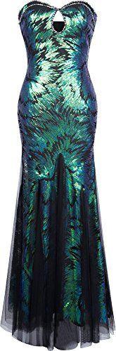 Angel-fashions Damen Schatz-Hullen Paillette schnuren sich oben Korn-Mesh-Kleid, http://www.amazon.de/dp/B01CCLUBE4/ref=cm_sw_r_pi_s_awdl_odbNxbGRJ8RHP