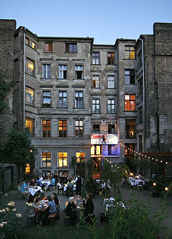 Clarchens Ballhaus, Cafe/Bar & Restaurant - Berlin, Germany