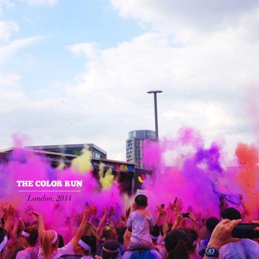 Mr. Bazaar Runs The Colour Run 2014 In London!