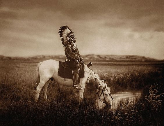 "Photo by Edward Sheriff Curtis,(February 16, 1868 – October 19, 1952) or the ""Shadow Catcher"" as he was later called by some of the tribes. Thanks to Nonnie Augustine for this find.:"