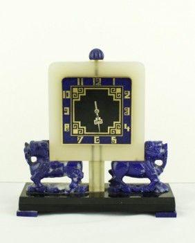 Rare Vacheron & Constantin Art Deco Desk Clock