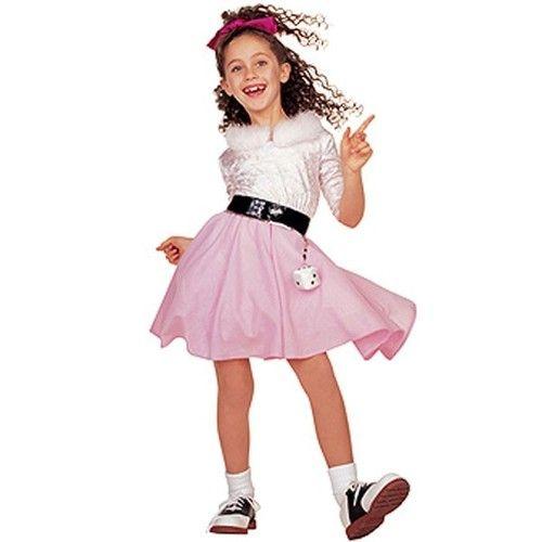 Girls 50\u0027s Barbie Halloween Costume Dress Toddler 2T 2 4 Rubies 1 2 - barbie halloween costume ideas