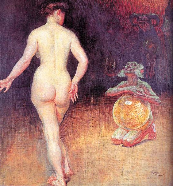 Frantisek Kupka 'Young Girl with a Ball' 1908 Frantisek Kupka, Young Girl with a Ball, 1908