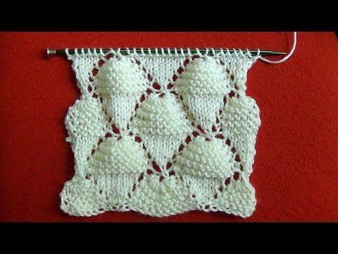 Cómo Tejer Conos de Helado-Knit Ice Cream Cones 2 Agujas (298)