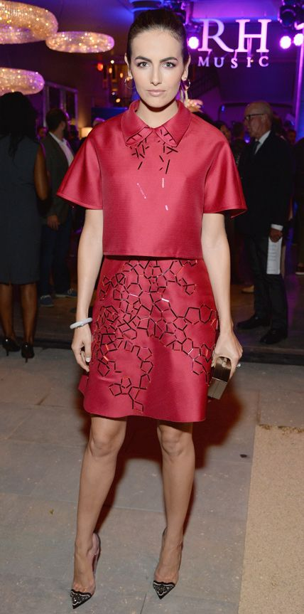 Look of the Day - October 23, 2014 - Camilla Belle in Carolina Herrera from #InStyle