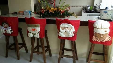 Portal espaldar navideño!!