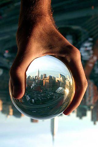 Glass ball: