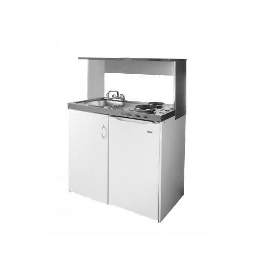 Summit Appliance Station For Combination Kitchens   Stainless Steel