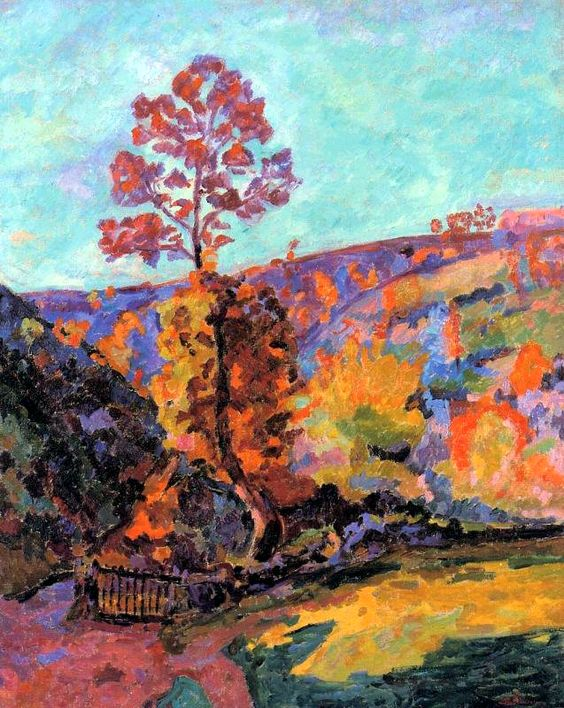 Armand Guillaumin - Paysage Crozant (1917)