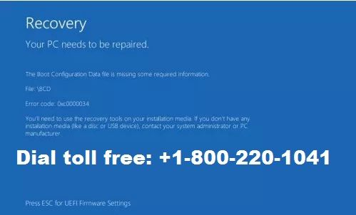 How To Fix Windows 8 Boot Error Dial 1 888 633 7151 Toll Free