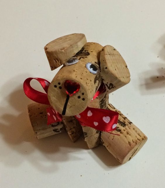 Corky - The Wine Cork Doggy DIY