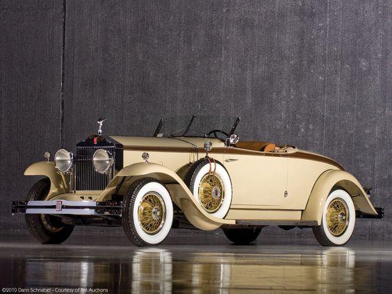 Brewster Rolls-Royce Phantom I Henley Roadster 1929