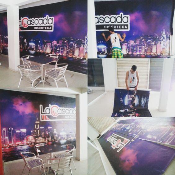 En #nitrografico contamos con impresión gran formato y personal capacitado para instalación. Te brindamos la  asesoría que necesitas para ayudarte a decorar ese espacio que tanto deseas ver diferente. #hechoenzaragoza #print #vinyladhesivo #zaragozaantioquia