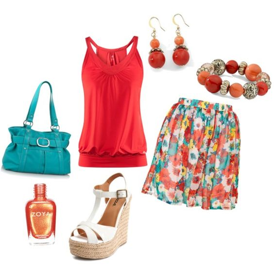 Summer Date NIght, created by justifitz on Polyvore