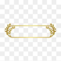 Gold Dendrite Gold Frame Line Border Euporean Pattern Vector Gold Vecto Graphic Design Background Templates Jewelry Logo Design Overlays Transparent Background