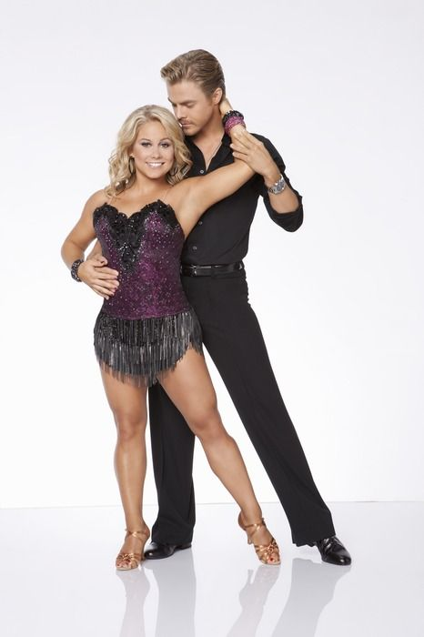 Shawn Johnson and Derek Hough together on Dancing with the Stars All Star season 15. I am a happy girl <3