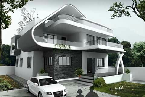 arch building modern villa design dream house design house elevation 3d design dream houses future house architecture home decor - Design Dream Homes