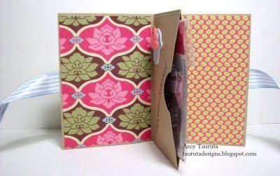 Tsuruta Designs: Gift Card Holder with a Twist!