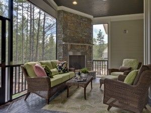 Great back porch!