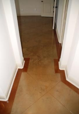 Stained Concrete GK Pinterest Colors And