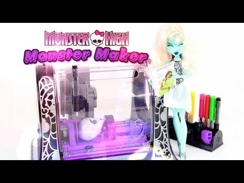 Doll crafts monster high and dolls on pinterest - Monster high youtube ...