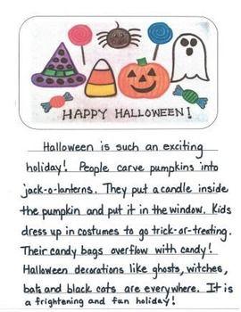 Short essay about halloween